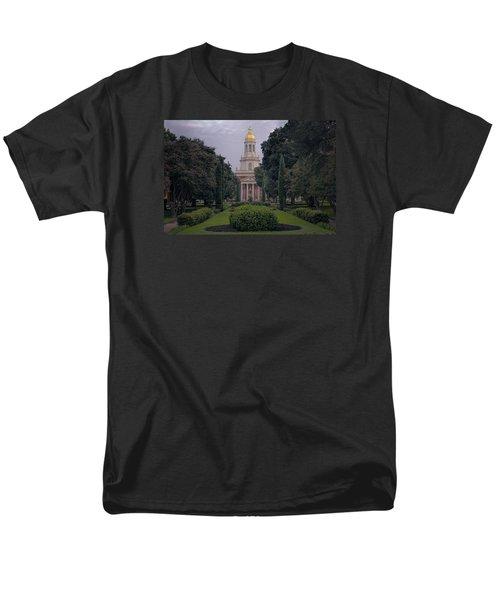 Baylor University Icon Men's T-Shirt  (Regular Fit) by Joan Carroll