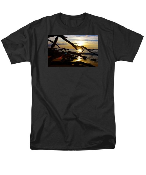 Beach 69 Hawaii At Sunset Men's T-Shirt  (Regular Fit) by Venetia Featherstone-Witty