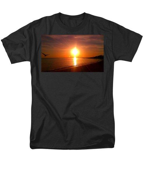 Beach Men's T-Shirt  (Regular Fit) by Chris Tarpening