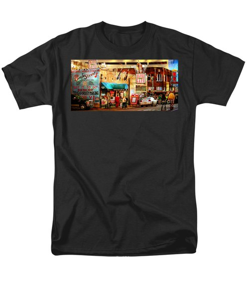 Beale Street Men's T-Shirt  (Regular Fit) by Barbara Chichester