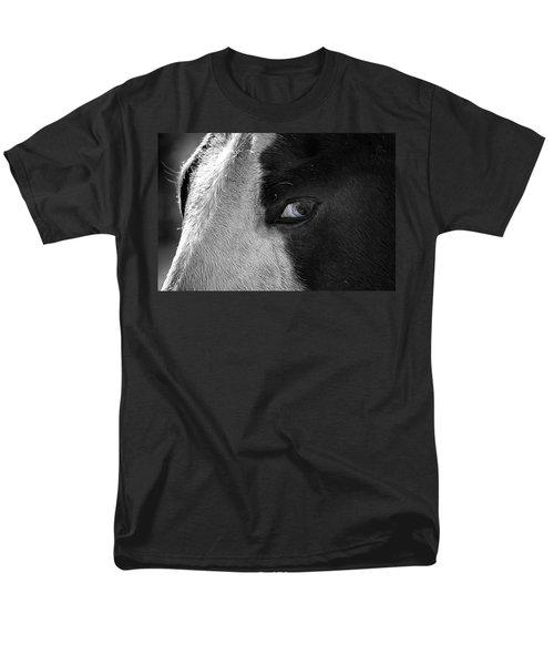 Beautiful Blind Soul Horse Men's T-Shirt  (Regular Fit) by Peggy Franz