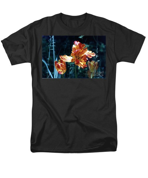 Men's T-Shirt  (Regular Fit) featuring the photograph Gorgeous Tulip by Phyllis Kaltenbach