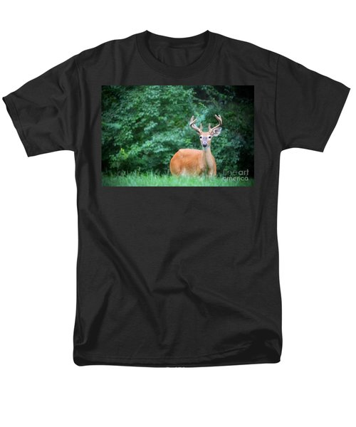 Beautiful Buck  Men's T-Shirt  (Regular Fit) by Peggy Franz