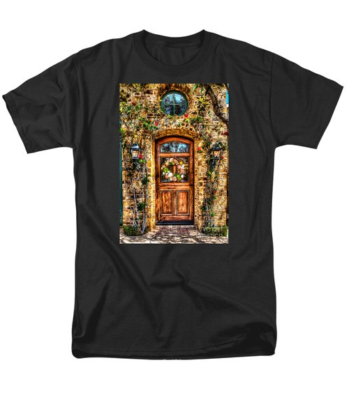 Men's T-Shirt  (Regular Fit) featuring the photograph Beautiful Entry by Jim Carrell