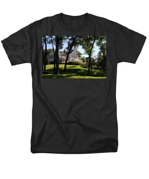 Beautiful Hillside Home Men's T-Shirt  (Regular Fit) by Kay Novy