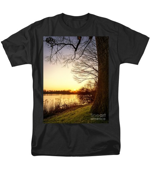 Beautiful Lake Men's T-Shirt  (Regular Fit) by Daniel Heine