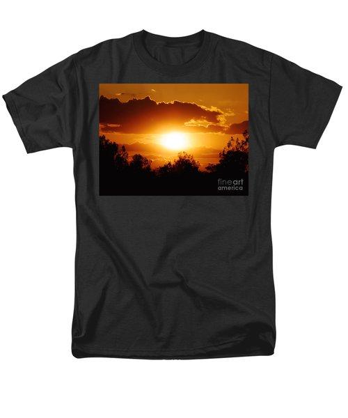 Men's T-Shirt  (Regular Fit) featuring the photograph Beautiful Moment In Bakersfield by Meghan at FireBonnet Art