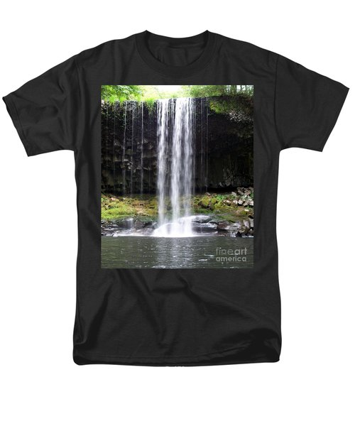 Men's T-Shirt  (Regular Fit) featuring the photograph Beaver Falls by Chalet Roome-Rigdon