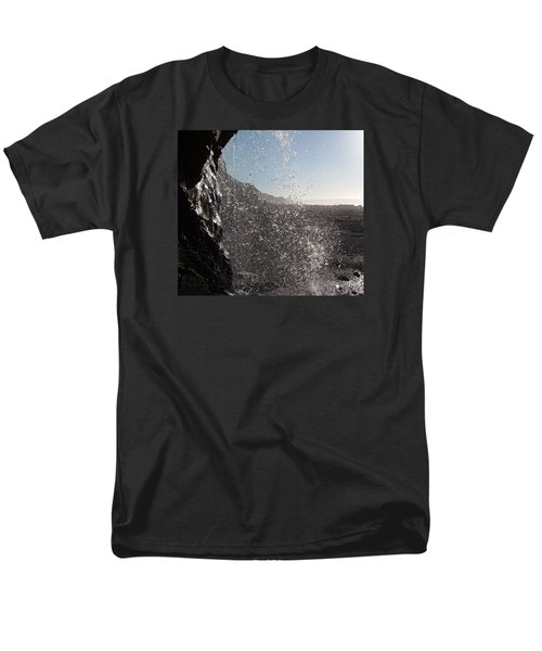 Behind The Waterfall Men's T-Shirt  (Regular Fit) by Richard Brookes
