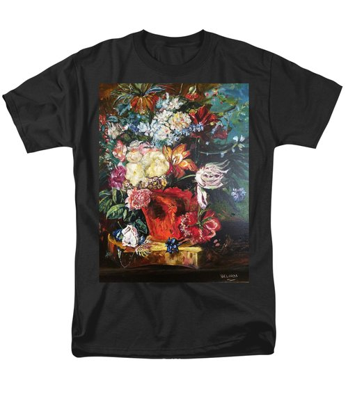 Life Is A Bouquet Of Flowers  Men's T-Shirt  (Regular Fit) by Belinda Low