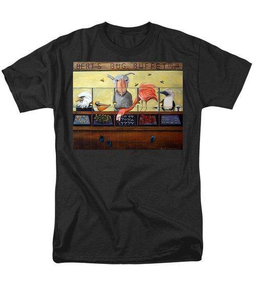 Bert's Bug Buffet Men's T-Shirt  (Regular Fit) by Leah Saulnier The Painting Maniac