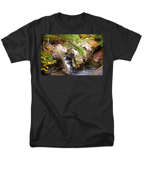 Men's T-Shirt  (Regular Fit) featuring the photograph Beside The Water by Bill Howard