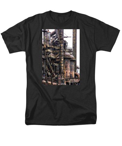 Bethlehem Steel Series Men's T-Shirt  (Regular Fit) by Marcia Lee Jones