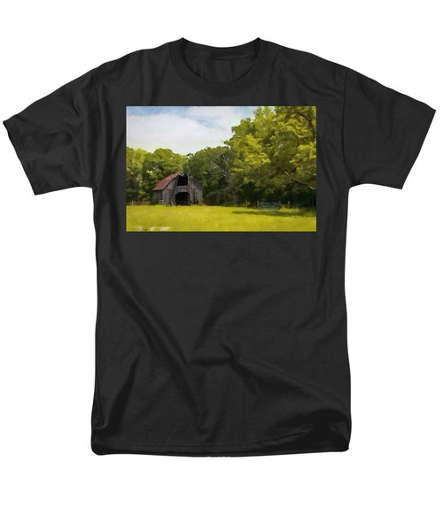 Men's T-Shirt  (Regular Fit) featuring the painting Better Days by Jeff Kolker