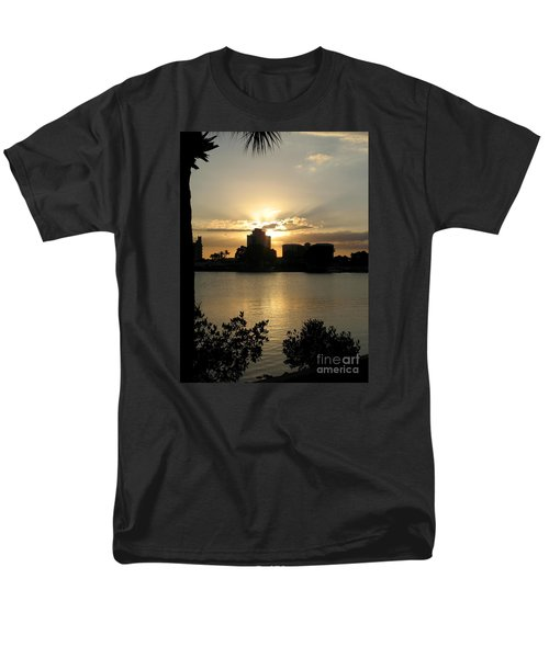 Between Day And Night Men's T-Shirt  (Regular Fit) by Christiane Schulze Art And Photography