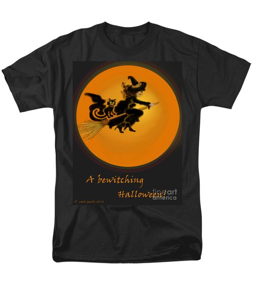 Men's T-Shirt  (Regular Fit) featuring the painting Betwitched by Carol Jacobs
