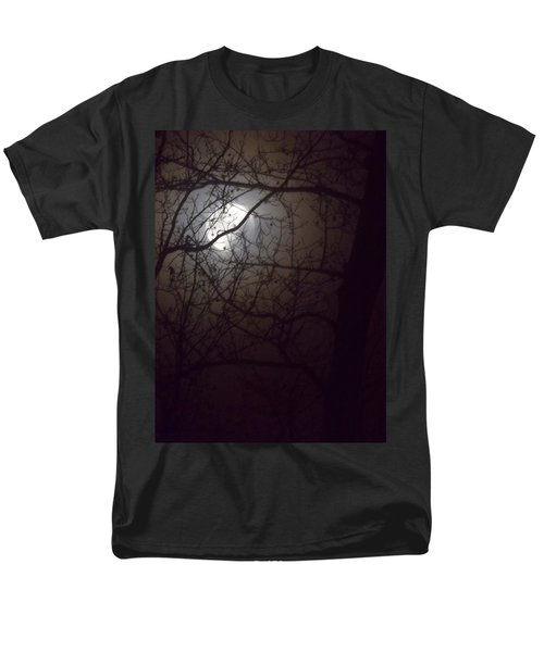 Men's T-Shirt  (Regular Fit) featuring the photograph Beware The Rougarou Moon by John Glass