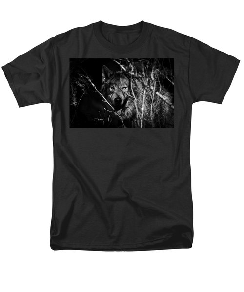 Beware The Woods Men's T-Shirt  (Regular Fit) by Wes and Dotty Weber