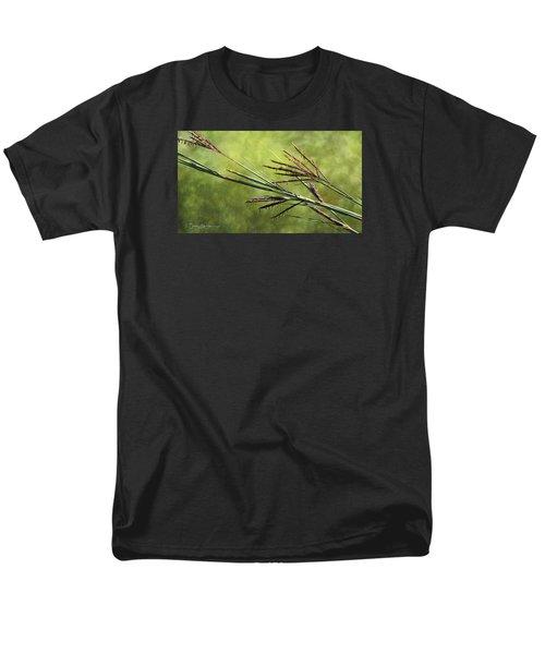 Big Bluestem In Bloom Men's T-Shirt  (Regular Fit) by Bruce Morrison