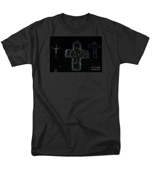 Men's T-Shirt  (Regular Fit) featuring the photograph Big Jesus by Tina M Wenger