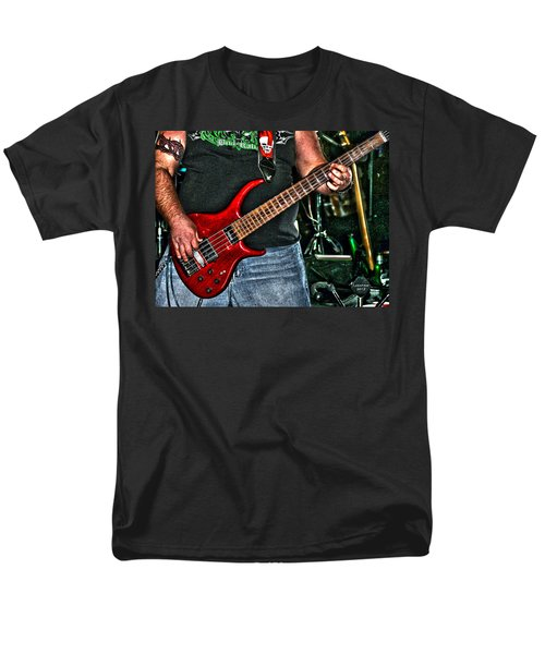 Men's T-Shirt  (Regular Fit) featuring the photograph Big Red Tobias by Lesa Fine