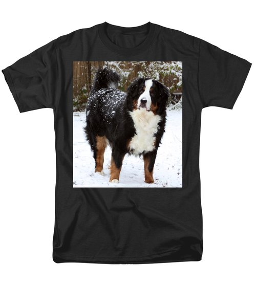 Men's T-Shirt  (Regular Fit) featuring the photograph Snow Happy by Patti Whitten
