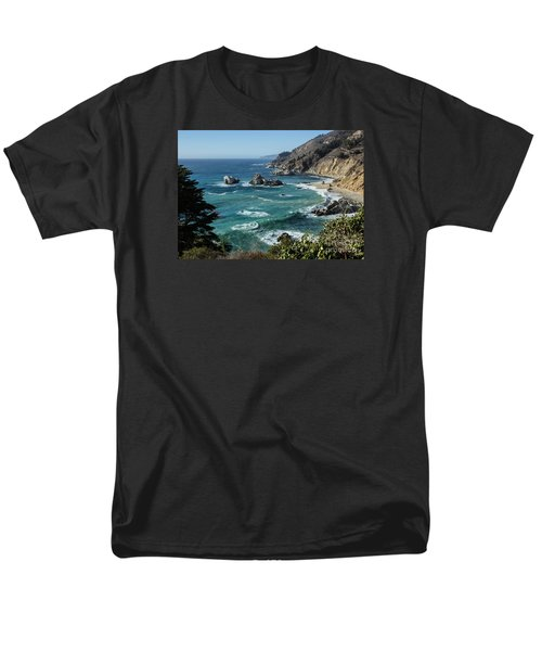 Big Sur Coast From Julia Pfeiffer Burns Men's T-Shirt  (Regular Fit) by Suzanne Luft