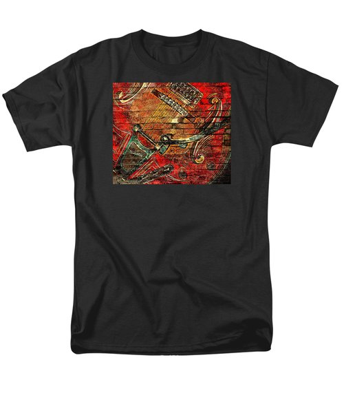 Bigsby Faux Mural Men's T-Shirt  (Regular Fit) by Chris Berry