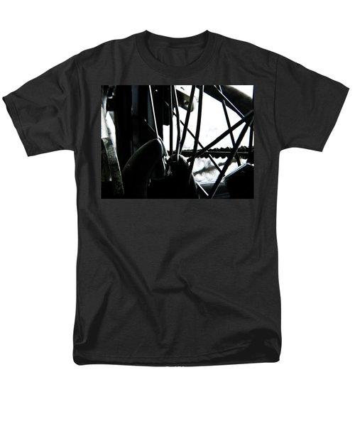 Bike Wheel Men's T-Shirt  (Regular Fit) by Joel Loftus