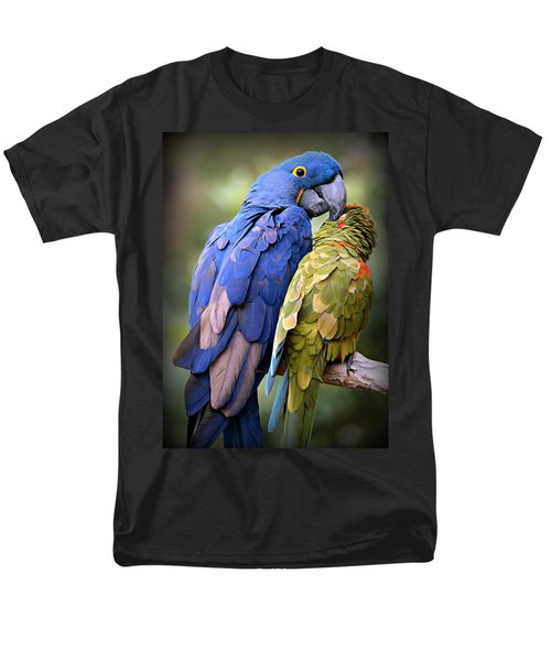 Birds Of A Feather Men's T-Shirt  (Regular Fit) by Stephen Stookey
