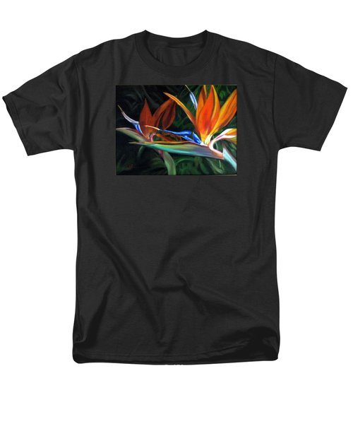 Men's T-Shirt  (Regular Fit) featuring the painting Birds Of Paradise by LaVonne Hand