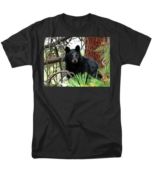 Black Bear 1 Men's T-Shirt  (Regular Fit)