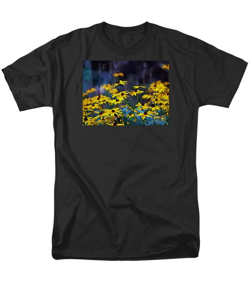 Men's T-Shirt  (Regular Fit) featuring the photograph Black-eyed Susans by Patricia Griffin Brett