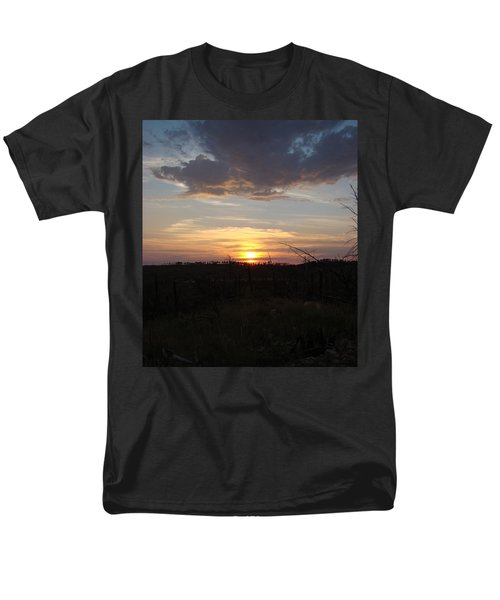 Men's T-Shirt  (Regular Fit) featuring the photograph Black Hills Sunset IIi by Cathy Anderson