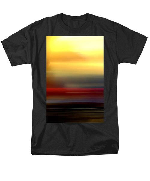 Black Red Yellow Men's T-Shirt  (Regular Fit) by Terence Morrissey