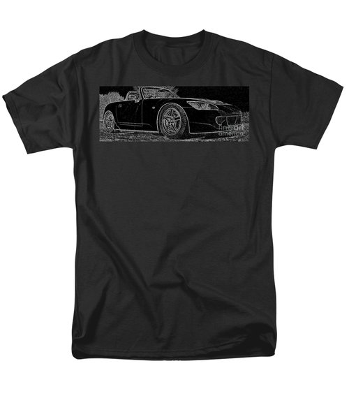 Black S2000 Men's T-Shirt  (Regular Fit) by Eric Liller