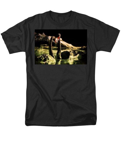 Black Swan Men's T-Shirt  (Regular Fit) by Diane Dugas