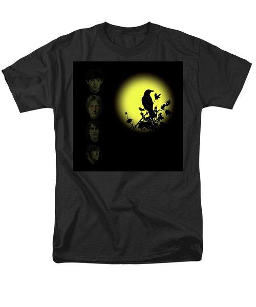 Blackbird Singing In The Dead Of Night Men's T-Shirt  (Regular Fit)