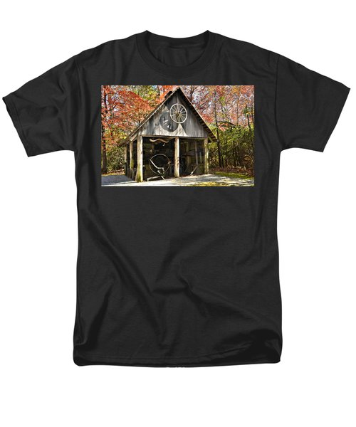Blacksmith Shop Men's T-Shirt  (Regular Fit) by Susan Leggett