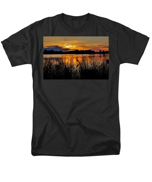 Blackwater Morning Men's T-Shirt  (Regular Fit) by Robert Geary