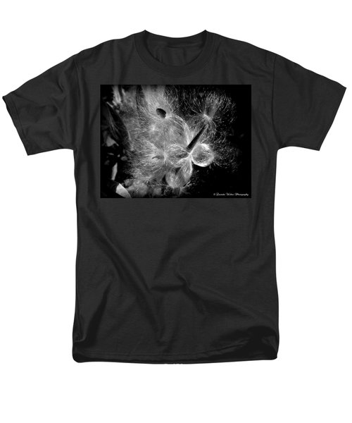 Men's T-Shirt  (Regular Fit) featuring the photograph Blowing In The Wind by Lucinda Walter