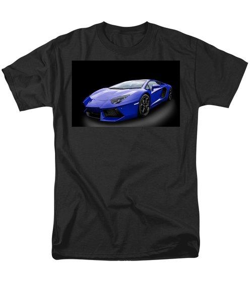 Blue Aventador Men's T-Shirt  (Regular Fit) by Matt Malloy