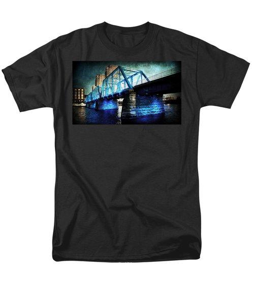 Blue Bridge Men's T-Shirt  (Regular Fit) by Evie Carrier