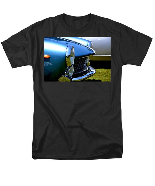 Men's T-Shirt  (Regular Fit) featuring the photograph Blue Car by Dean Ferreira