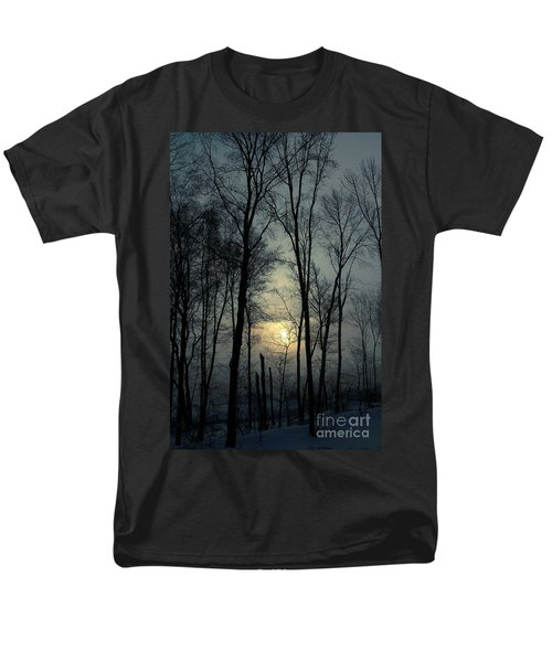 Blue Daybreak Men's T-Shirt  (Regular Fit)