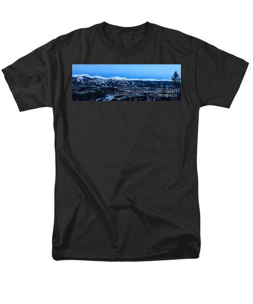 Blue Hour In Breckenridge Men's T-Shirt  (Regular Fit) by Ronda Kimbrow