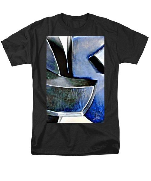 Blue Iron Men's T-Shirt  (Regular Fit) by Joan Reese