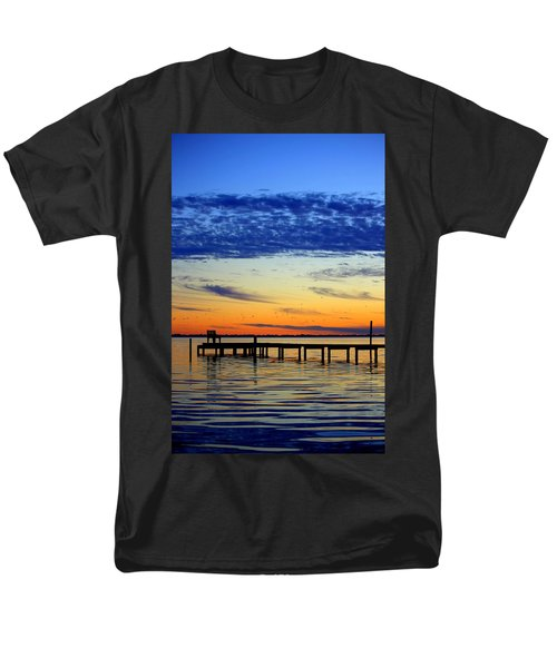 Men's T-Shirt  (Regular Fit) featuring the photograph Blue Sky by Faith Williams