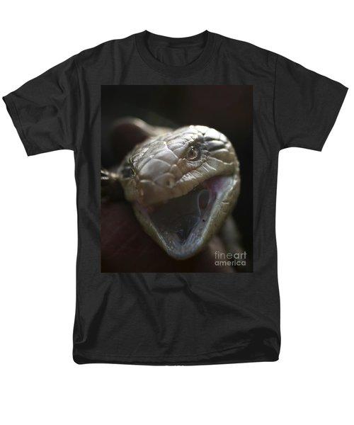 Blue Tongue Lizard Men's T-Shirt  (Regular Fit) by Joy Watson