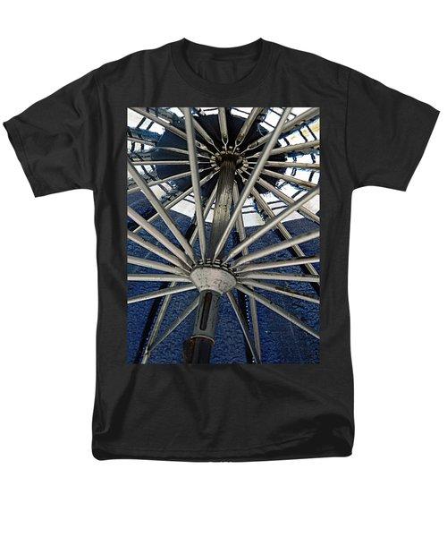 Blue Umbrella Underpinnings Men's T-Shirt  (Regular Fit) by Kathy Barney